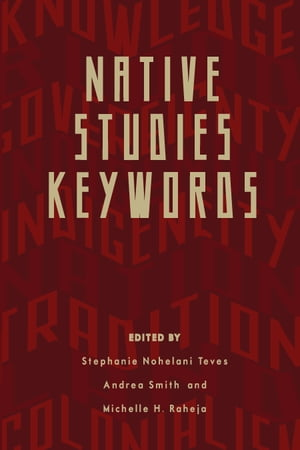 Native Studies Keywords