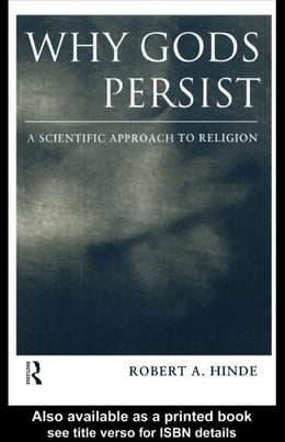 Book Why Gods Persist by Hinde, Robert A.