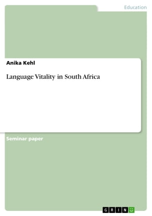 Language Vitality in South Africa