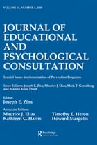 Implementation of Prevention Programs: A Special Issue of the journal of Educational and…