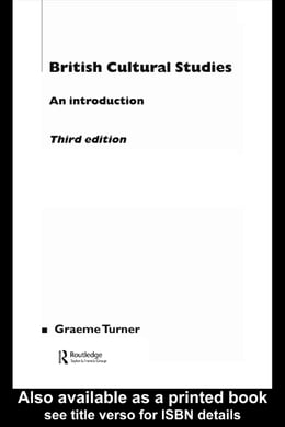 Book British Cultural Studies by Turner, Graeme