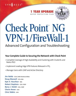 Book CheckPoint NG VPN 1/Firewall 1: Advanced Configuration and Troubleshooting by Syngress