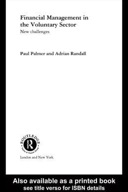 Book Financial Management in the Voluntary Sector: New Challenges by Palmer, Paul