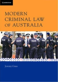 Modern Criminal Law of Australia