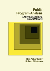 Public Program Analysis: A New Categorical Data Approach