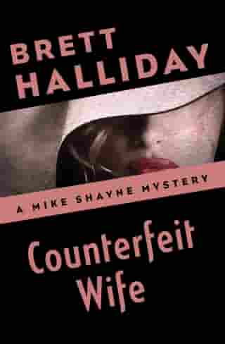 Counterfeit Wife by Brett Halliday
