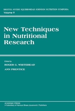 Book New Techniques in Nutritional research by Whitehead, Roger