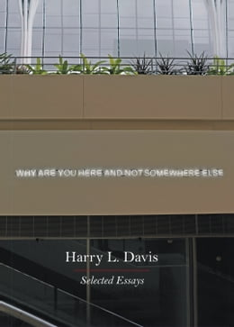 Book Why Are You Here and Not Somewhere Else: Selected Essays by Harry L. Davis