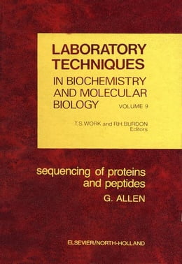 Book Sequencing of proteins and peptides by Allen, Geoffrey