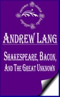 1230000249133 - Andrew Lang: Shakespeare, Bacon, and the Great Unknown - Buch