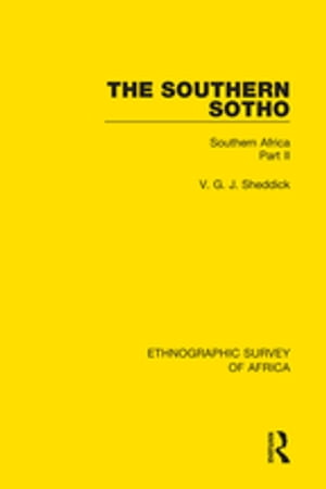 The Southern Sotho Southern Africa Part II