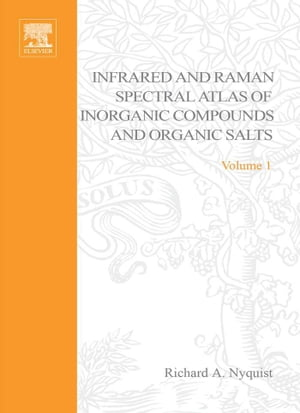 Handbook of Infrared and Raman Spectra of Inorganic Compounds and Organic Salts: Text and Explanations