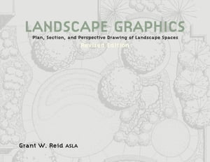 Landscape Graphics Plan,  Section,  and Perspective Drawing of Landscape Spaces