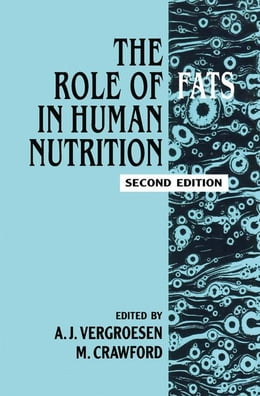 Book Role of Fats in Human Nutrition by Unknown, Author