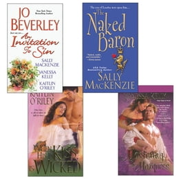 Book Hot Historicals Bundle with An Invitation to Sin, The Naked Baron, When His Kiss Is Wicked… by Jo Beverley