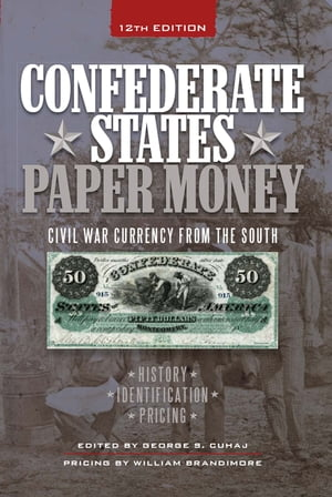 Confederate States Paper Money Civil War Currency from the South