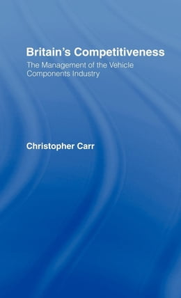 Book Britain's Competitiveness by Carr, Christopher
