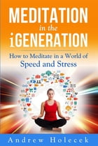 Meditation in the Igeneration: How to Meditate in a World of Speed and Stress by Andrew Holecek