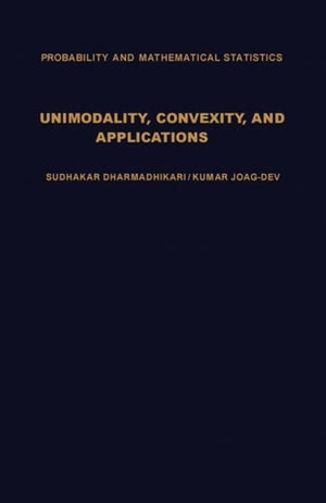 Unimodality,  Convexity,  and Applications