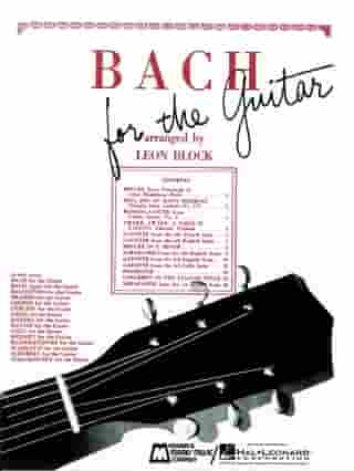 Bach for Guitar (Songbook): Guitar Solo