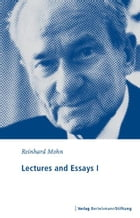 Lectures and Essays I: 1983 - 1986