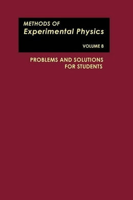 Book Problems and Solutions for Students by Marton, L.