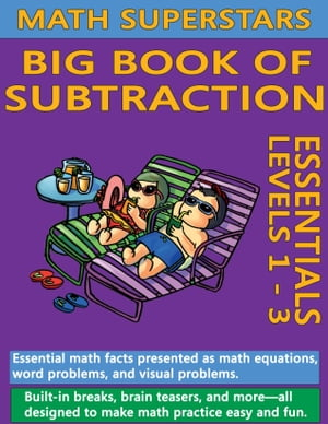 Math Superstars Big Book of Subtraction