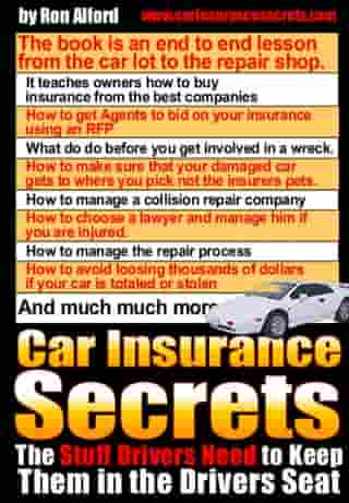 Car Insurance Secrets by Ron Alford