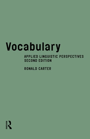 Vocabulary Applied Linguistic Perspectives