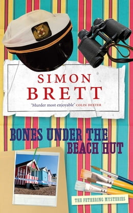 Book Bones Under the Beach Hut by Simon Brett