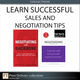 Book Learn Successful Sales and Negotiation Tips (Collection) by Reed K. Holden
