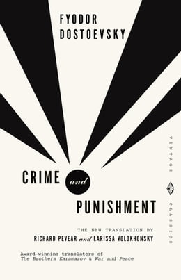 Book Crime and Punishment by Fyodor Dostoevsky