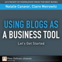 Book Using Blogs as a Business Tool: Let's Get Started by Natalie Canavor