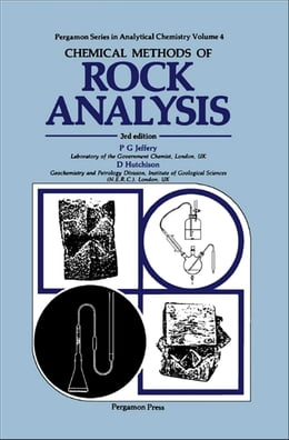 Book Chemical Methods of Rock Analysis by D. Hutchison