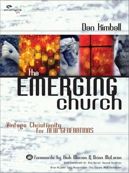 Book The Emerging Church by Dan Kimball