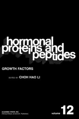 Book Growth Factors by Li, Choh Hao
