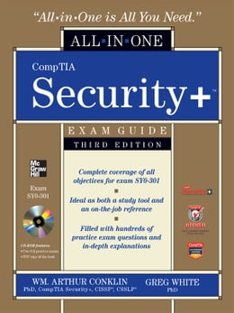 Book CompTIA Security+ All-in-One Exam Guide (Exam SY0-301), 3rd Edition by Wm. Arthur Conklin