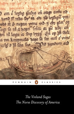 Book The Vinland Sagas: The Norse Discovery of America by Hermann Palsson