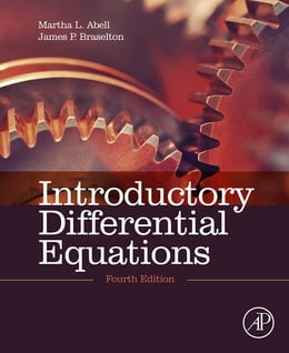Book Introductory Differential Equations: with Boundary Value Problems by Martha L. Abell