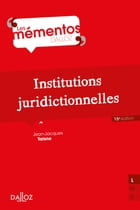 Institutions juridictionnelles by Jean-Jacques Taisne