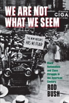 We Are Not What We Seem: Black Nationalism and Class Struggle in the American Century by Roderick D. Bush