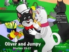 Oliver and Jumpy - the Cat Series, Stories 25-27, Book 9: Bedtime stories for children in illustrated picture book with short stories for early reader by Werner Stejskal