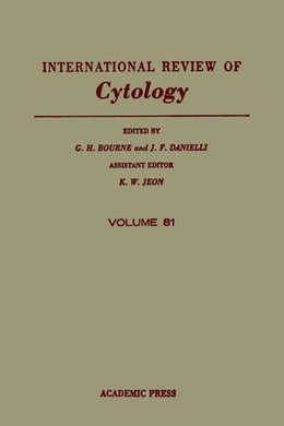 Book INTERNATIONAL REVIEW OF CYTOLOGY V81 by Bourne, G. H.