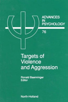 Book Targets of Violence and Aggression by Baenninger, R.