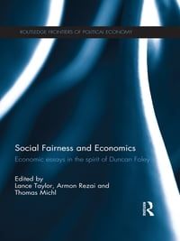 Social Fairness and Economics: Economic Essays in the Spirit of Duncan Foley