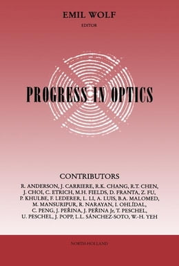 Book Progress in Optics by Emil Wolf