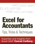 Excel for Accountants: Tips, Tricks & Techniques by Conrad Carlberg