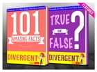 Divergent Trilogy - 101 Amazing Facts & True or False?: Fun Facts and Trivia Tidbits Quiz Game Books by G Whiz