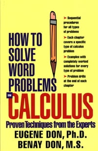 How to Solve Word Problems in Calculus