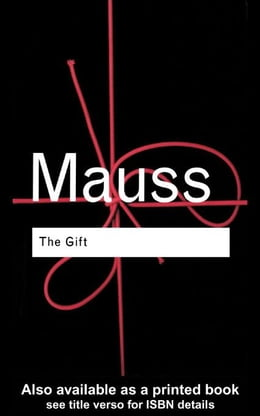 Book The Gift by Mauss, Marcel